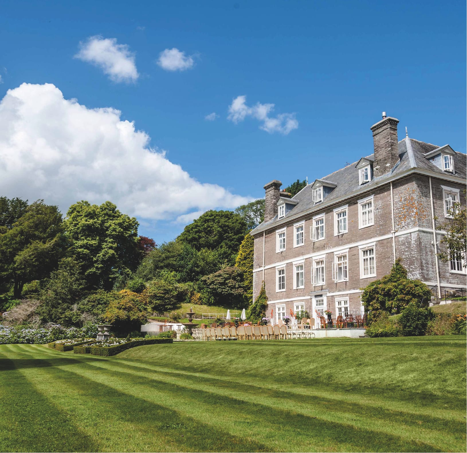 Choose to visit Buckland Tout-Saints Hotel in Devon as part of the Eden Hotel Collection.