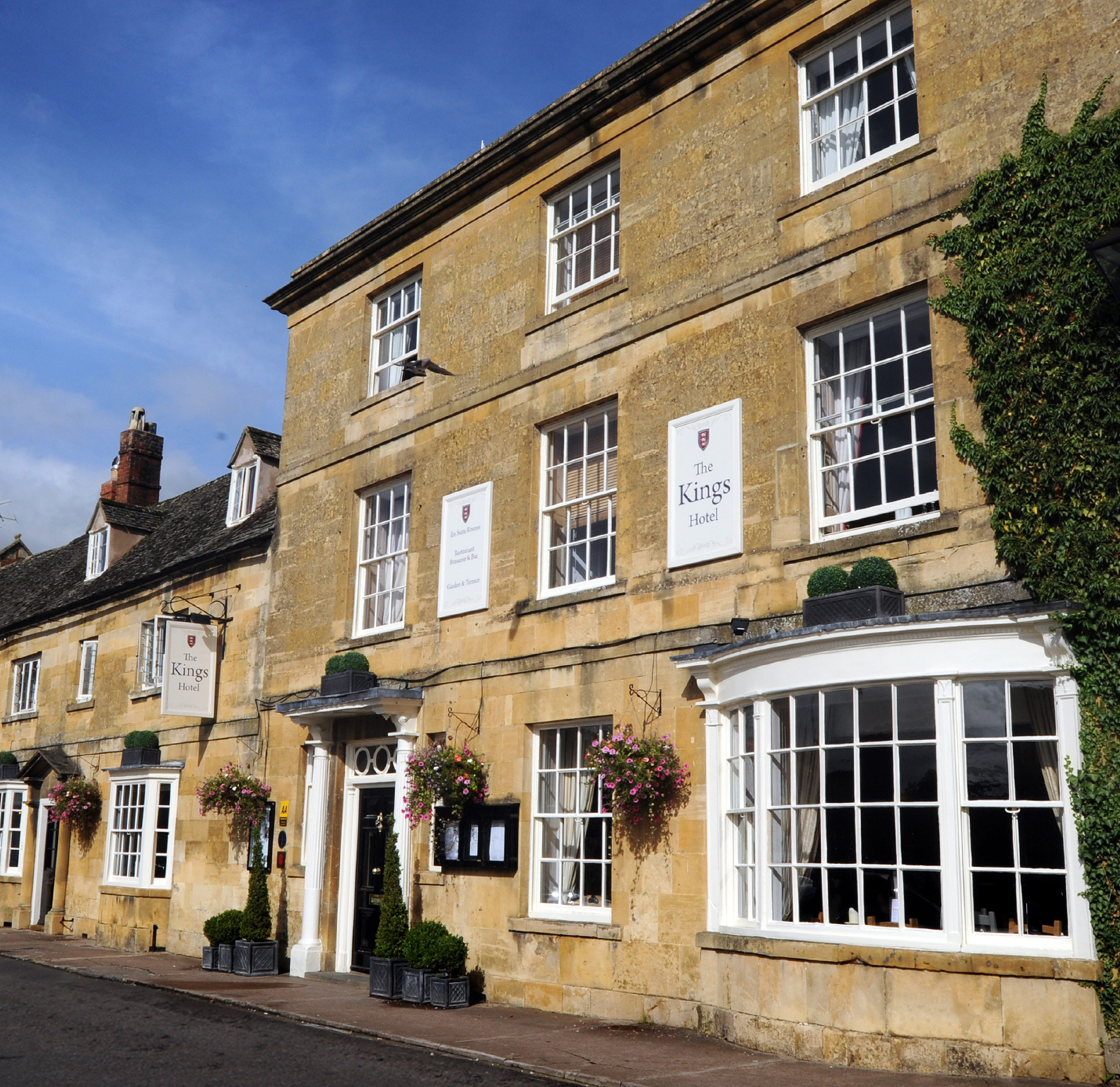 Choose to visit The Kings Hotel in the Cotswolds as part of the Eden Hotel Collection.