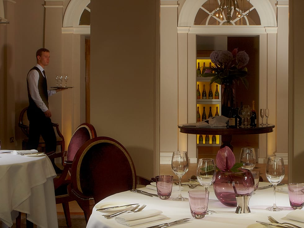 The Chaddesley Restaurant at Brockencote Hall