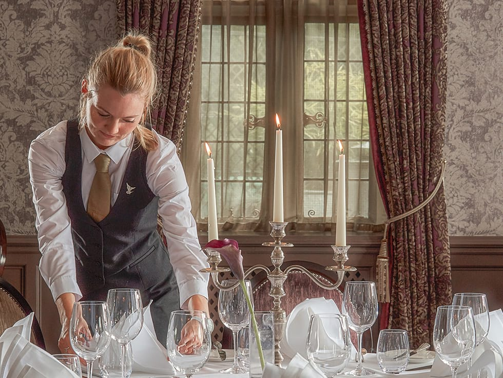 restaurant supervisor at bovey castle