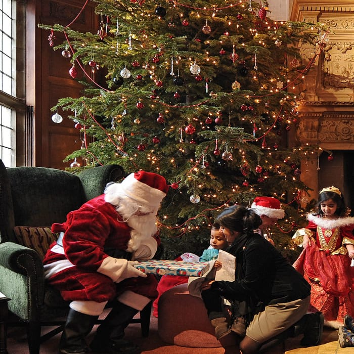 Christmas at Bovey Castle