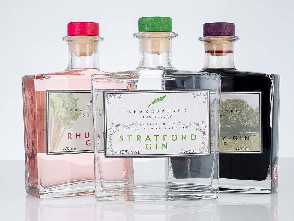 Stratford Distillery gins