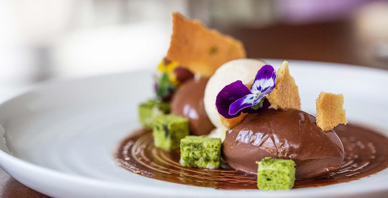 The Arden Hotel chocolate dessert