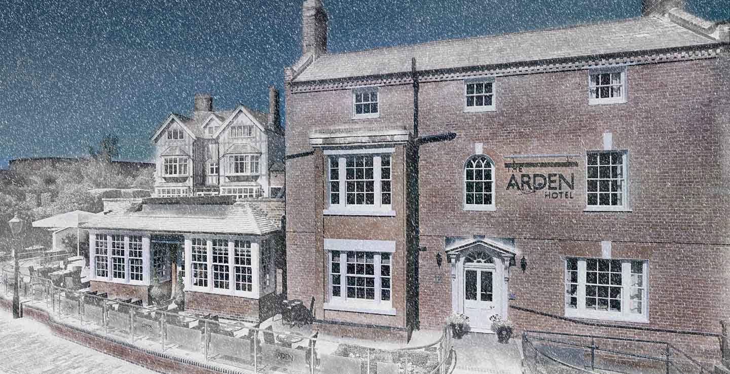 Christmas breaks in the UK at the Arden Hotel